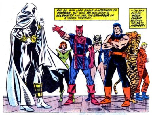 Moon Knight et ses potes de la West Coast Avengers